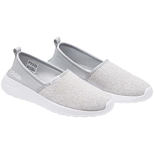 sports shoes 7b29b 6b413 Adidas Neo - Zapatillas Deportivas para Mujer Lite Racer, Gris Blanco, 9.5 M