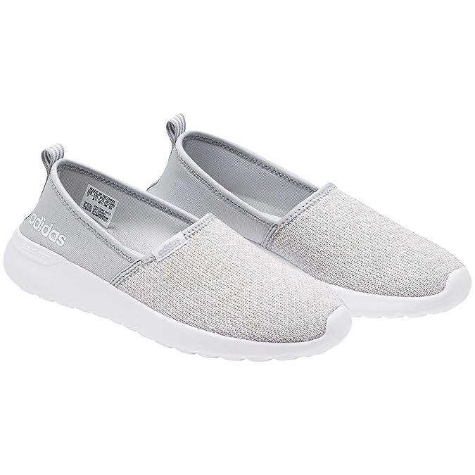 ... shoe 8a85f d3e34  uk adidas neo womens lite racer slip on w casual  sneaker 9 bm grey white buy 2dc6d9b78
