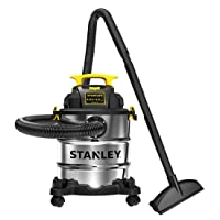 Deals on Stanley SL18116 Wet/Dry Vacuum 6 Gallon Stainless Steel Tank