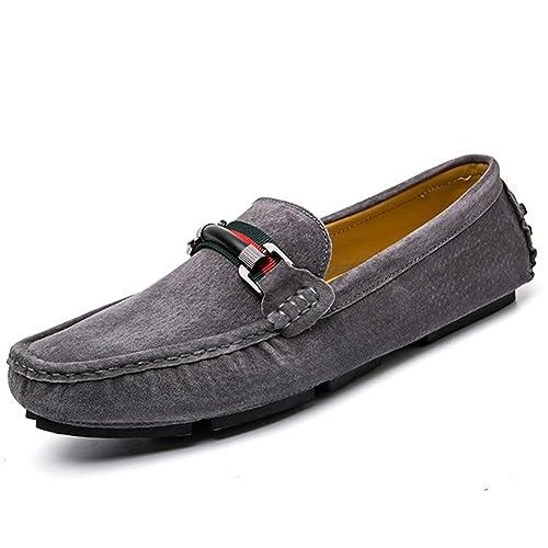 Mocasines Hombre Moda Transpirables Ante Conducción Zapatos Slip on Senderismo: Amazon.es: Zapatos y complementos