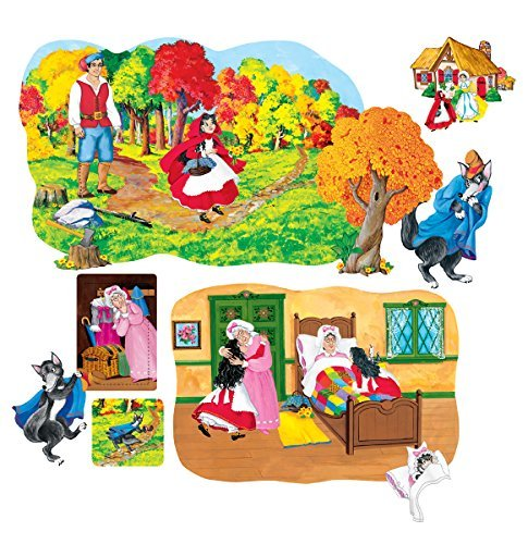 Little Folk Visuals Little Red Riding Hood Pre-Cut Flannel Board Figure