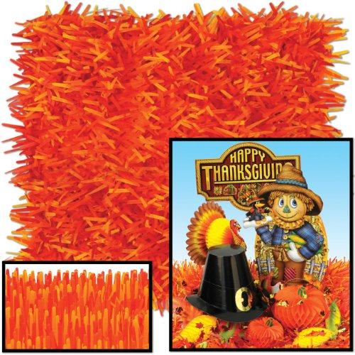 Pkgd Fringed Tissue Mats (golden-yellow, orange, red)    (2/Pkg) (Pkgd Tissue)