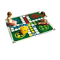 Traditional Garden Games- PARCHIS Gigante, Color Verde (58)