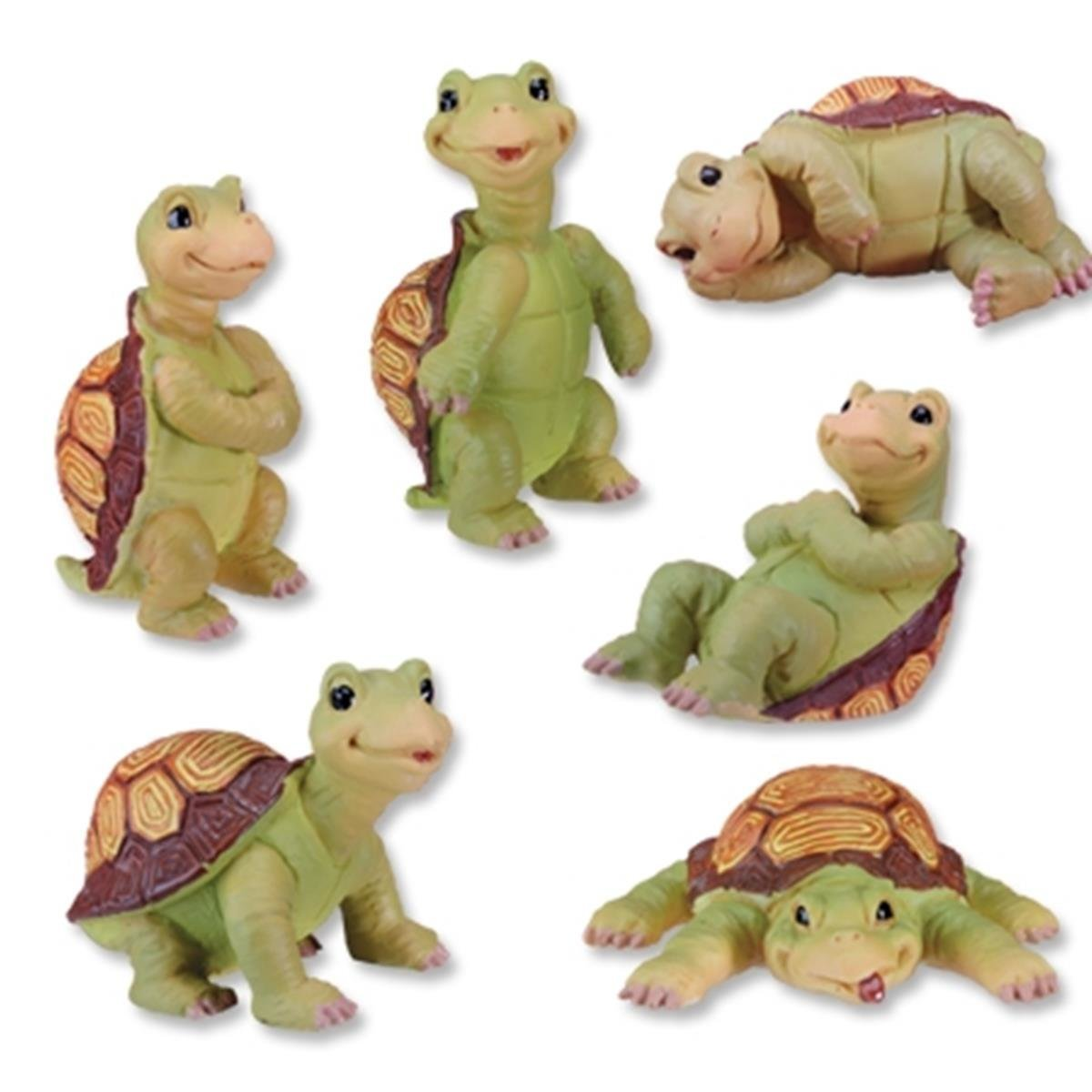 Turtles Collectible Statue, Set of 6