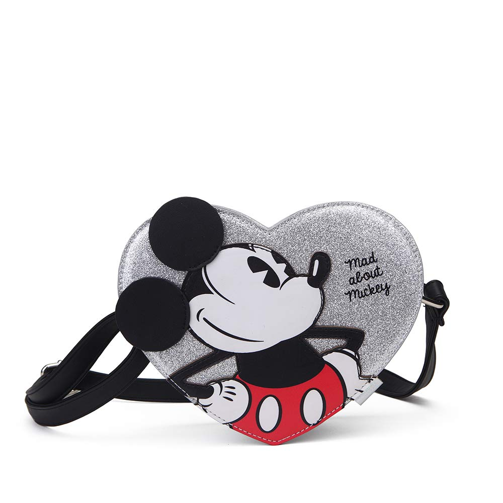 Mickey Mad About Messenger Bag Gris Grey 0.4 liters 20 cm