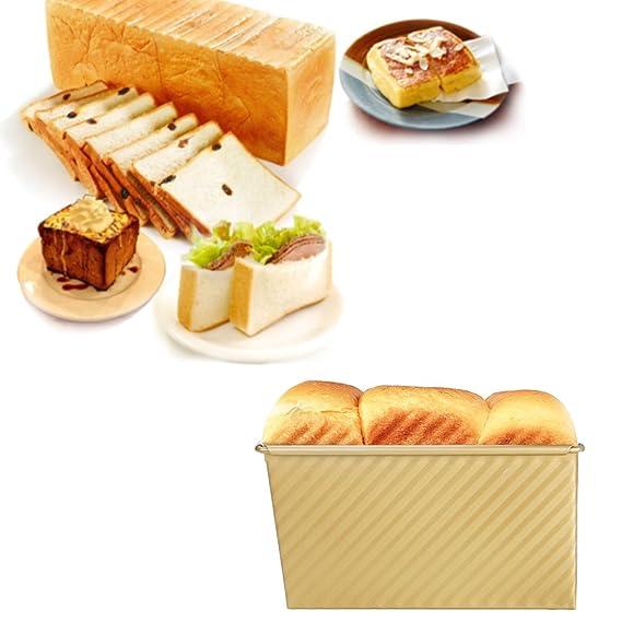 Bojin molde rectangular con Toast Panificadora ortogone ...