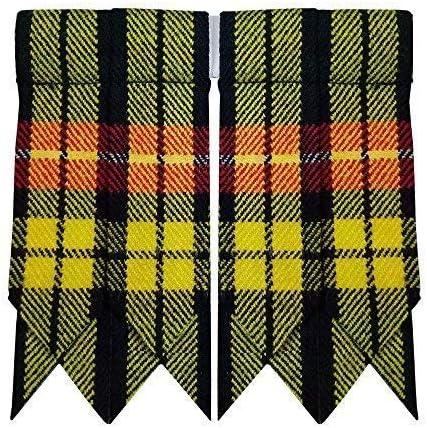 Highland Kilt Falda Escocesa Calcetines Bandas Varios Tartanes ...