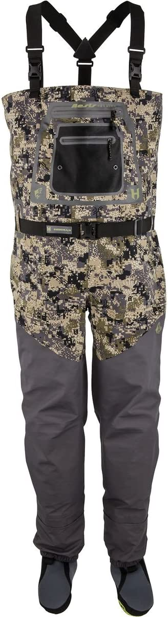 Hodgman Aesis Sonic Digiストッキング足Wader Digital Camo/Dark Charcoal Medium