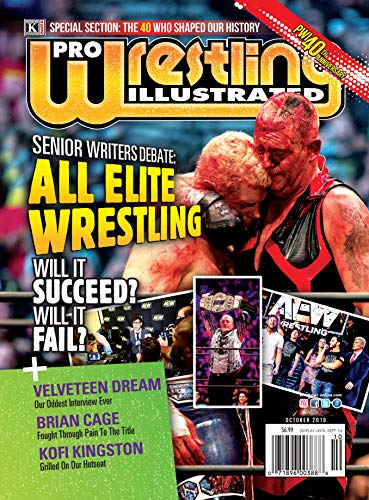 Pwi 500 List 2020.Amazon Com Pro Wrestling Illustrated October 2019 Pwi 40th