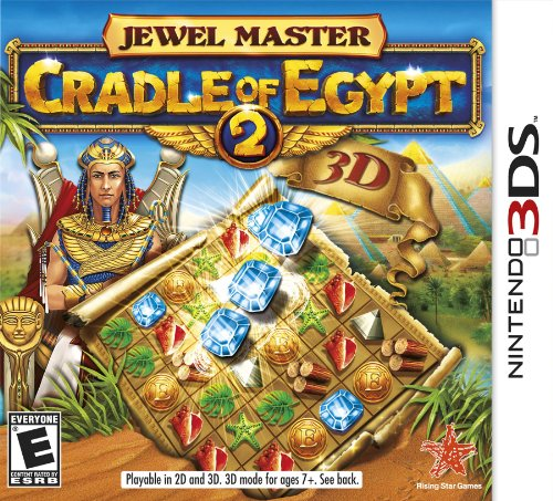 Jewel Master: Cradle of Egypt 2 - Nintendo 3DS (Jewels Estate)