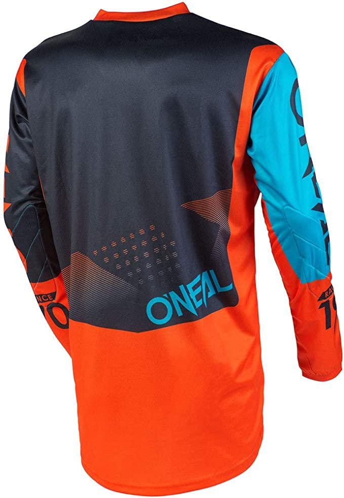 ONeal Element Warhawk Blue//Red Adult motocross MX off-road dirt bike Jersey Pants combo riding gear set Pants W34 // Jersey Large