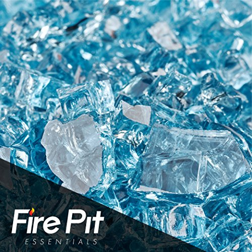 Pacific Blue Fire Glass 1/4