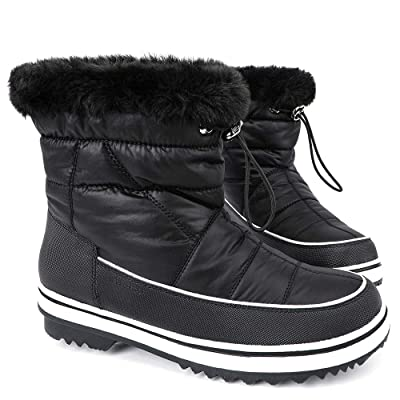 ALEADER Women's Terra Waterproof Winter Ankle Snow Boots | Snow Boots