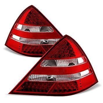 LED FAROS TRASEROS rojo negro para mercedes slk r170