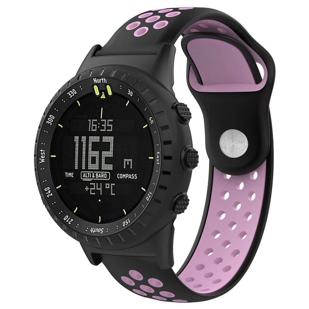 Auto Echo Banda para Suunto Core All Negro Sport Smartwatch con ...