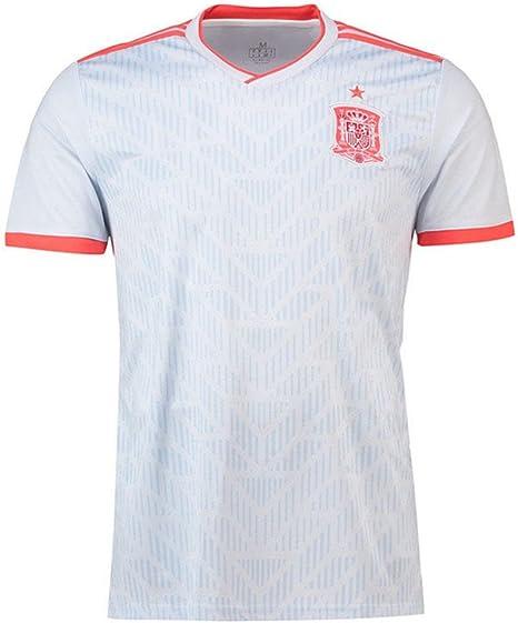 DLpf Uniforme de visitante de Fútbol de España, Camiseta de Manga ...