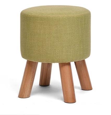 GAOLIGUO GLu0026G Modern Cloth Three Feet Stools, Recreation Furniture  Footstools Home Decoration Art Ottomans Solid
