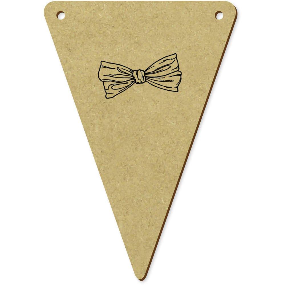 5 x 100mm Corbata de Moño Banderines / Banderas (BN00006500 ...