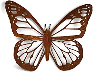 """Rustic Butterfly Wall Art - 15"""" wide (1)"""