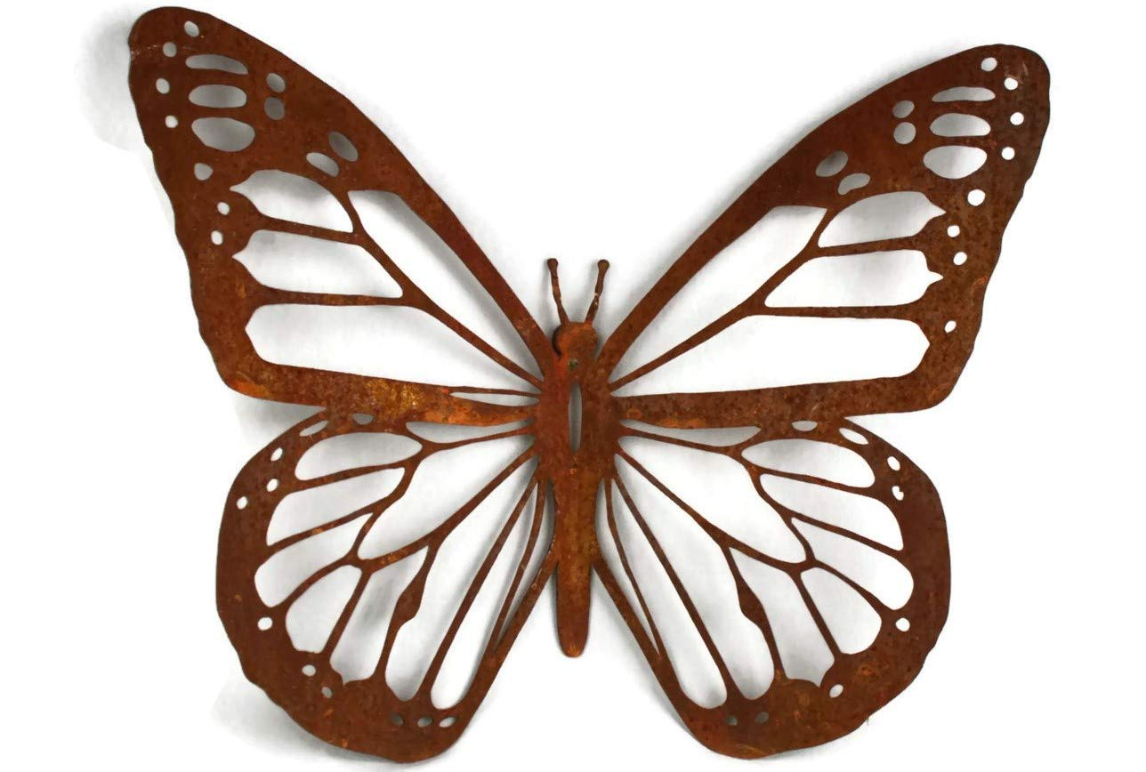 Rustic Butterfly Wall Art - 15'' Wide (1)