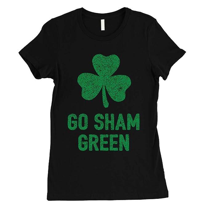 14d6a9133 365 Printing Go Sham Green Womens Saint Patrick's Day Tee Cute Irish T-Shirt  (