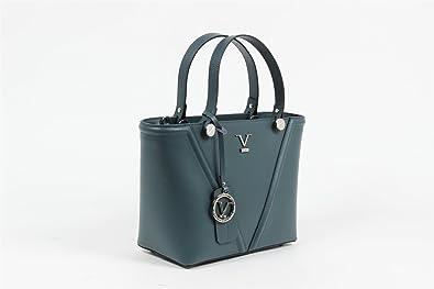 Versace 1969 Womens Handbag PETROL  Amazon.co.uk  Shoes   Bags e02278cd7cf4a