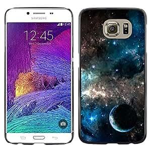 Stuss Case / Funda Carcasa protectora - Galaxies Universe Sky Stars Planet Nebula - Samsung Galaxy S6 SM-G920