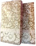 Burlap & Lace 2- Pack Paper Napkins, Wedding, Tea Party, Showers, Party, Luncheon Size