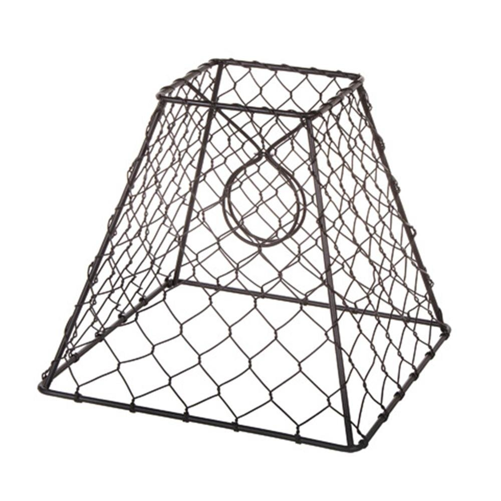 Amazon.com: Darice 30009024 Clip-on Chicken Wire Lamp Shade: Home ...