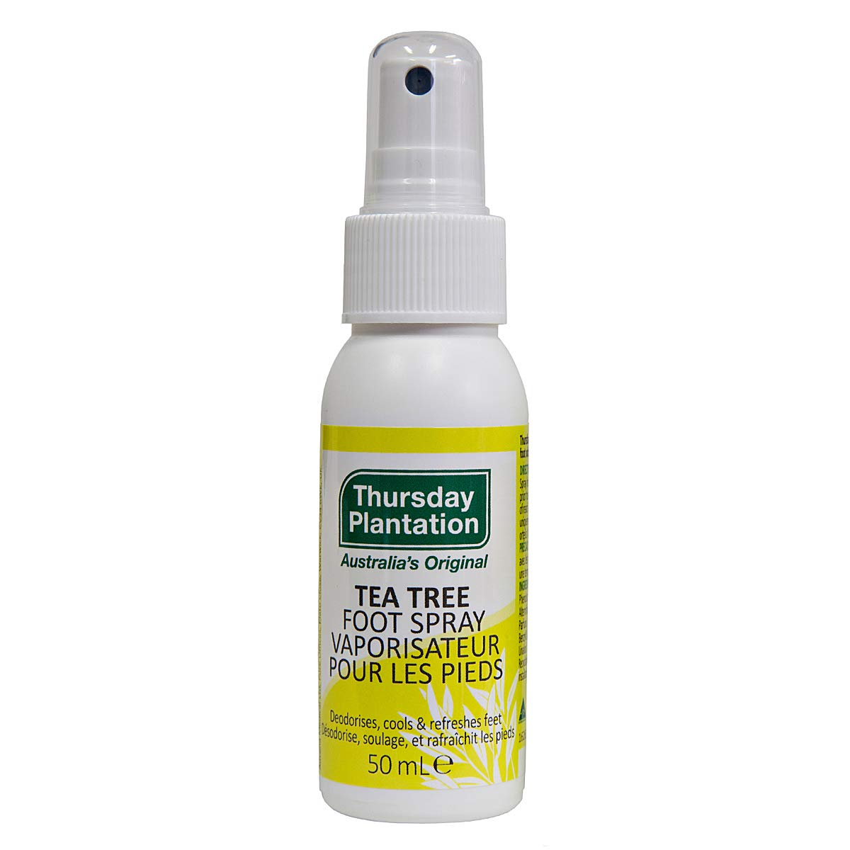 Thursday Plantation - Tea Tree Foot Spray, 1.69 fl oz spray