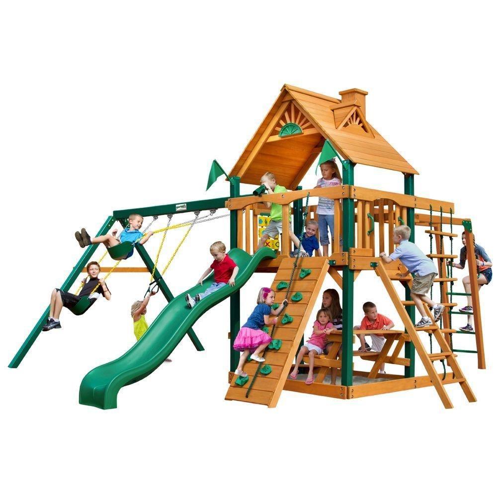 Gorilla Playsets Blue Ridge Navigator Playground System