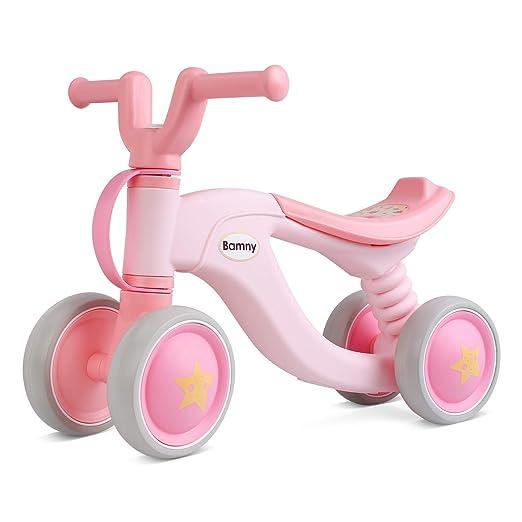 WWWNYY Andador de Scooter para niños, Andador de Cuatro Ruedas con ...