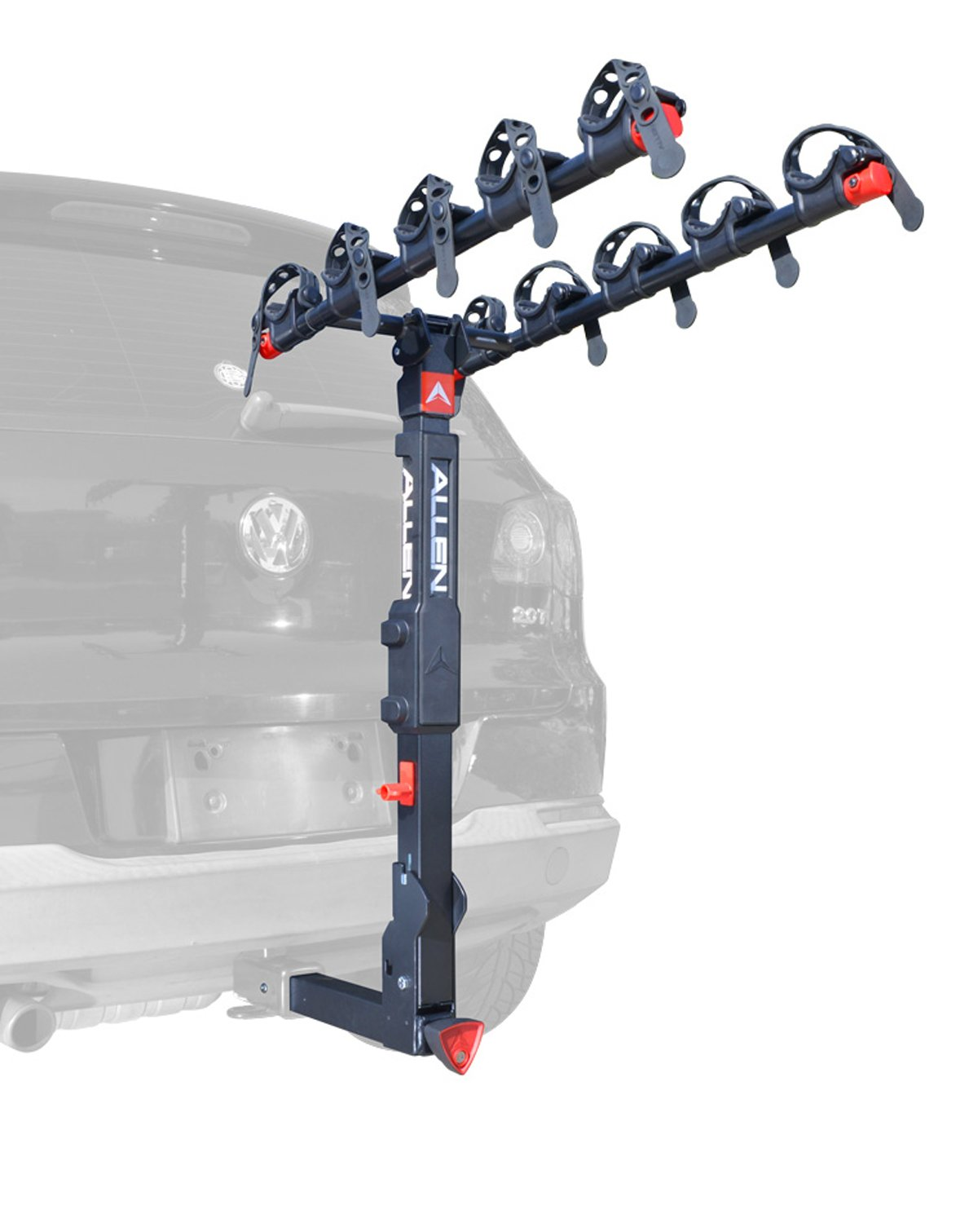 Allen Sports Premier Locking Quick Release 5-Bike Carrier for 2 in. Hitch