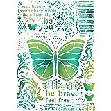 Stamperia Intl Butterflies Stamperia Stencil G