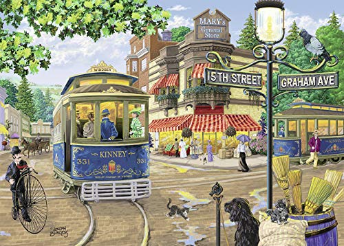 Ravensburger Mary's General Store Large Format 300 Piece Jigsaw Puzzle for Adults - Every Piece is Unique, Softclick Technology Means Pieces Fit Together Perfectly
