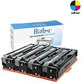 Airby® CF400X CF401X CF402X CF403X 201X Cartouche de Toner Compatible Pour HP Color LaserJet Pro MFP M277dw, M252dw, MFP M277n, M252n