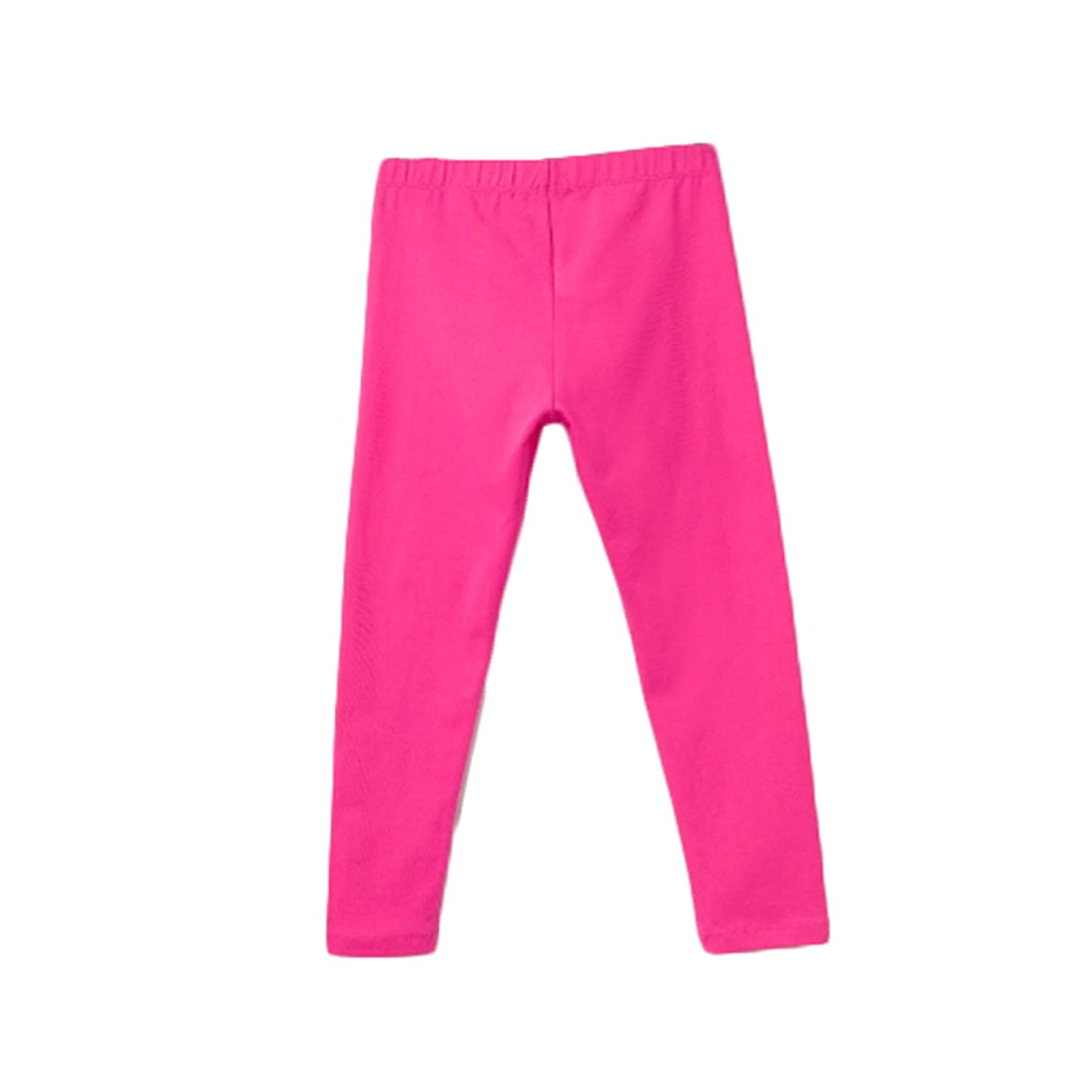 bossini Passionate Festival Girls Solid Leggings Pink,US Size 3t 16