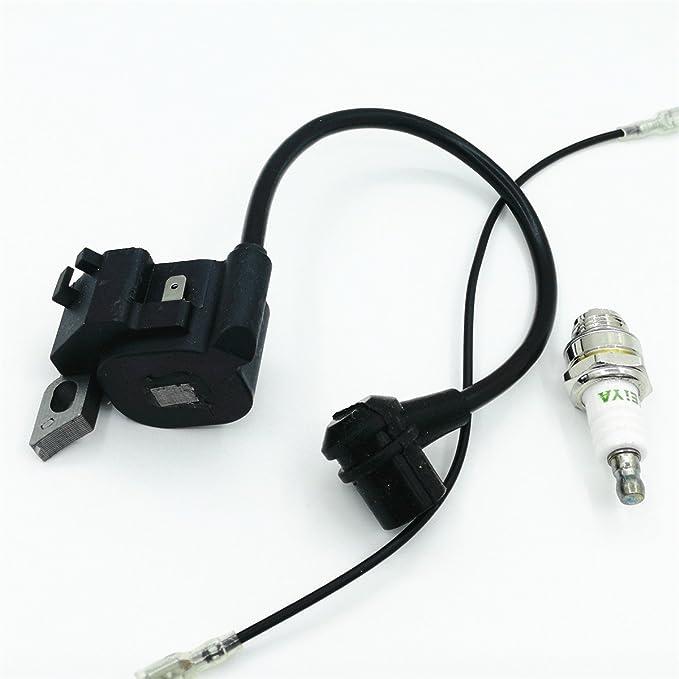 Shioshen Kit de Encendido Bobina Cables Filtro de Aire bujía para Motosierra Stihl MS180 MS170 MS 170 180 018 017 Recambio Nº 1130 400 1302: Amazon.es: ...