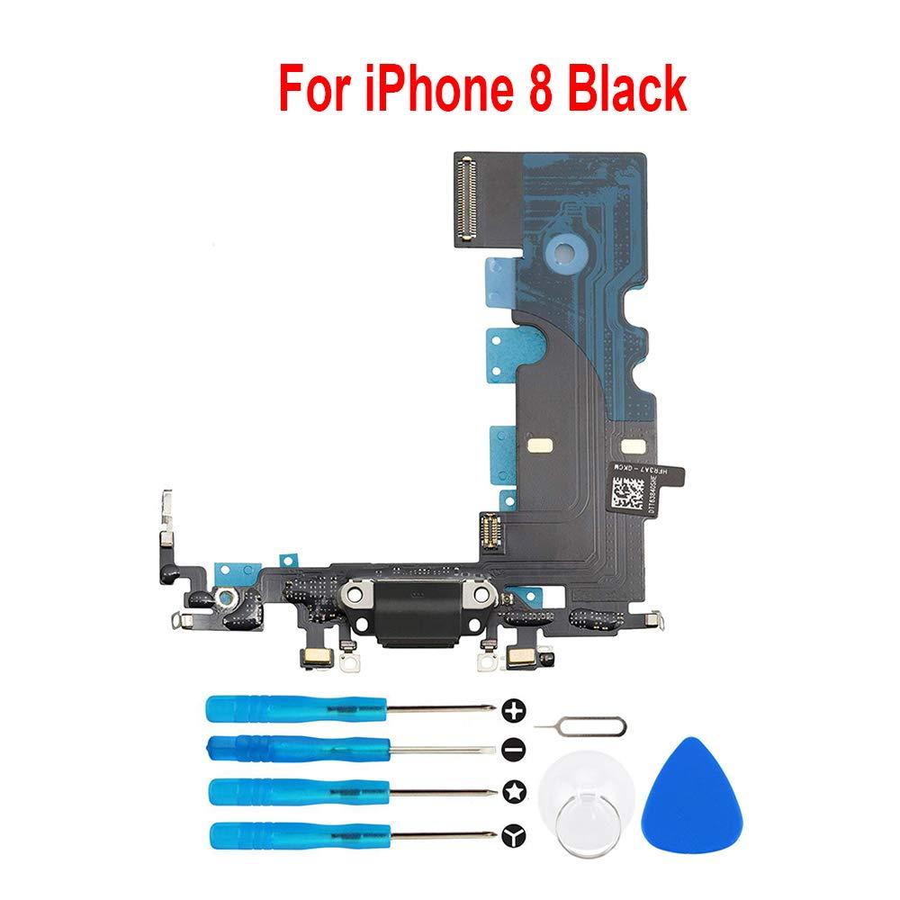 Puerto de Carga para iPhone 8 4.7 Black