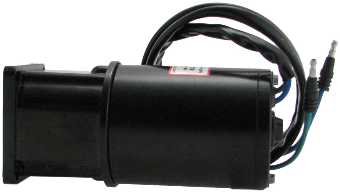 Brand New Tilt/Trim Motor with Reservoir for Mercury, Mariner, and Force Late Model 50-150HP Mercury / Mariner Outboards w Single Ram 50-125HP Force Outboards w Double Ram 809885A1 809885A2 18-6777 by URQS