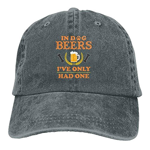 Funny in Dog Beers I've Only Had One Denim Baseball Caps Sports Trucker Climbing Hats