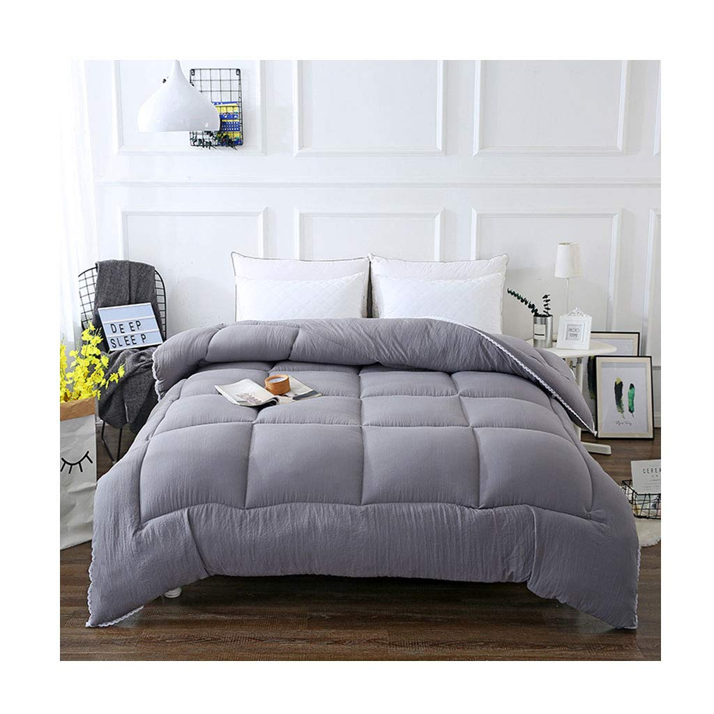 完売 ファッションシンプルな秋と冬を厚くする個々のダブルソフト暖かいキルトコアベッドルームホステルベッドライニング (色 : Gray, サイズ サイズ さいず : Gray, 150×200cm(2.5kg)) (色 B07MBRMGV9 180×220cm(2.5kg)|Gray Gray 180×220cm(2.5kg), コーミングアース:b300c1dc --- itourtk.ru