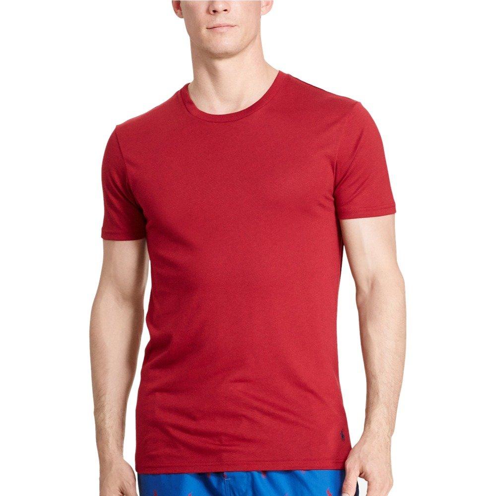 f0b4956f4f Polo Ralph Lauren Men's Supreme Comfort Crew-Neck T-Shirt (Medium ...