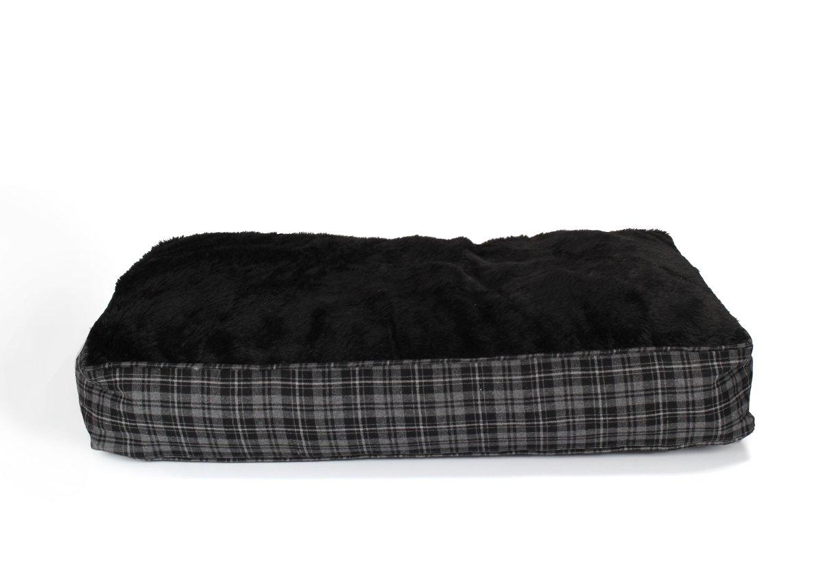 Coussin pour chien XL ultra-épais, 100x70 cm, gris / noir, panier pour chien, matelas pour animal domestique Sonstige