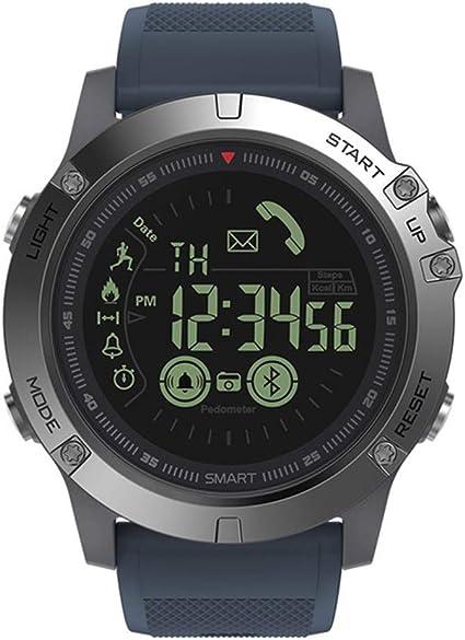WAIYY Smartwatch Resistente Tiempo De Espera De 33 Meses ...