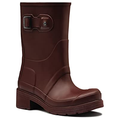 Womens Hunter Original Ankle Boot Winter Rain Low Heel Wellingtons Boots