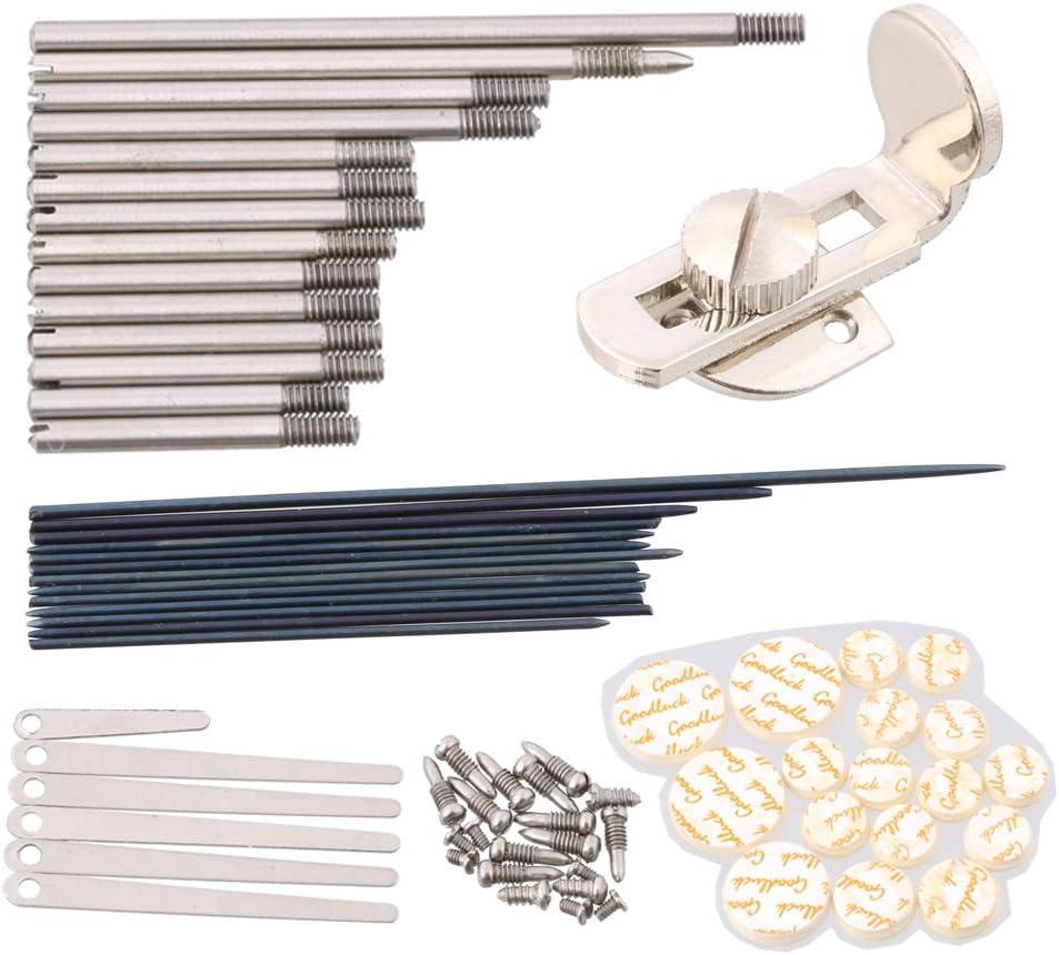 LYWS Clarinet Repair Tool Set Screws// Key Shaft// Reeds// Pads// Needle// Rest