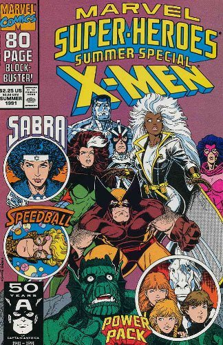 MARVEL SUPER-HEROES #6, (SUMMER SPECIAL X-MEN), July 1991 (Volume 2)