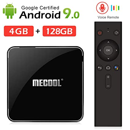 Amazon com: Andriod tv Box, Mecool KM3 Android 9 0 4K TV Box with