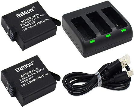 chargeur go pro pour batterie hero6